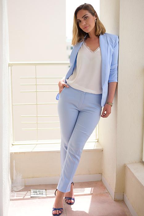 Selma Suit Bleu